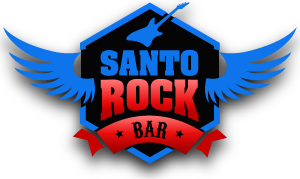 logo santo rock bar